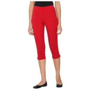 Women with Control Pull-on Stretch Pedal Pushers